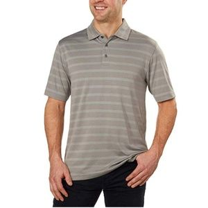 Bolle Men's Short Sleeve Polo Striped Shirt